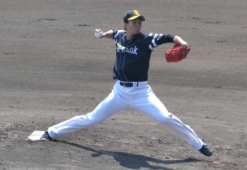 千賀投手のピッチングフォーム