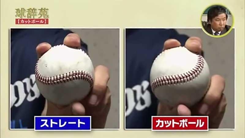 榎田 大樹選手のカットボールの握り