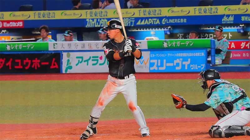 長谷川勇也選手のスタンス