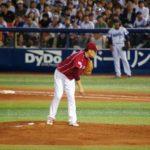 田中 将大選手のスプリットの投げ方