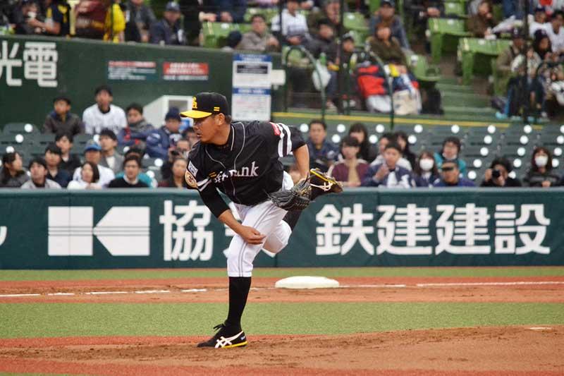 松坂大輔選手のピッチングフォーム