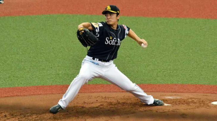 和田 毅選手のチェンジアップの投げ方
