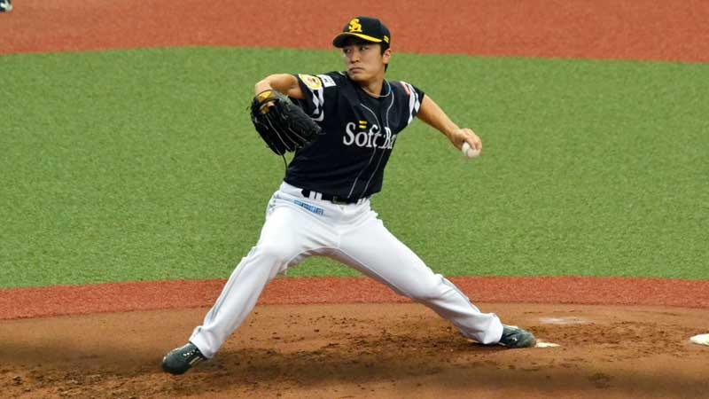 和田毅のピッチングフォーム