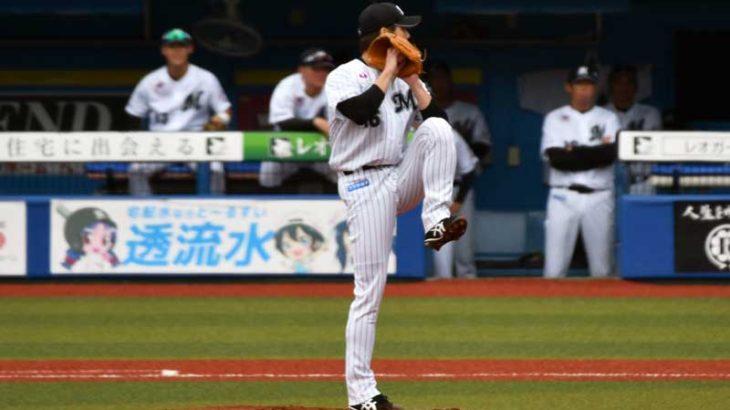 涌井 秀章選手のピッチングフォーム
