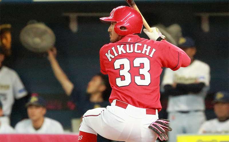 菊池涼介選手の背番号33