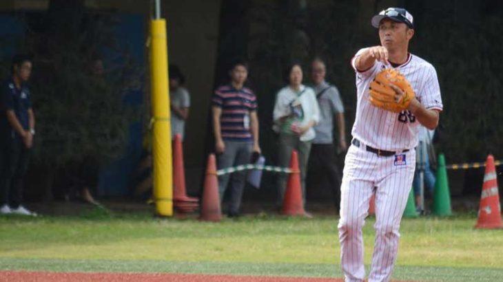 宮本慎也の捕球から送球までの守備のコツ
