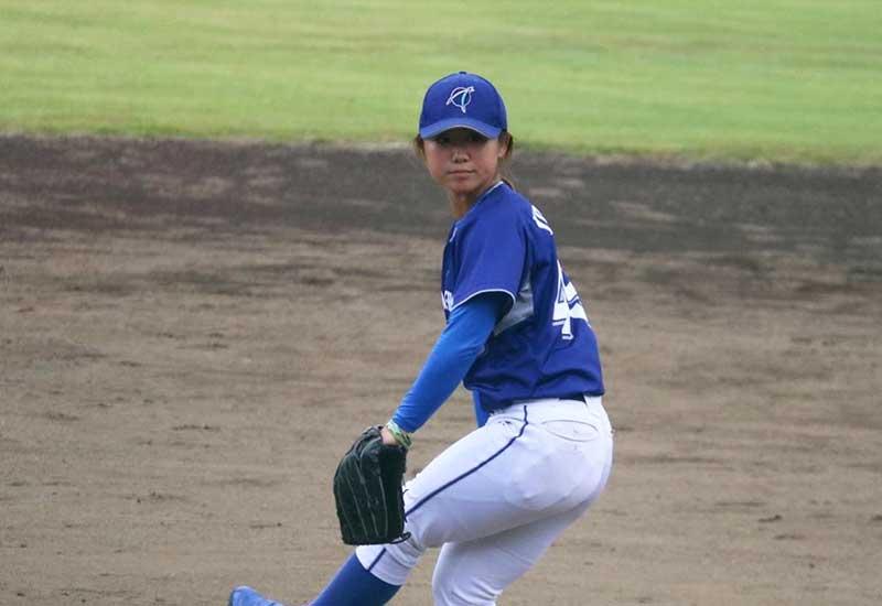 吉田えり選手のピッチングフォーム