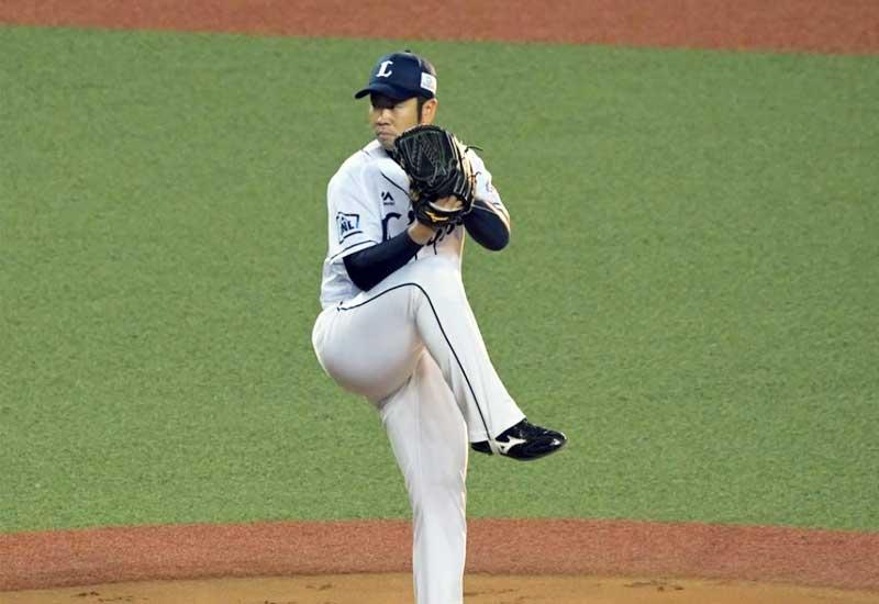 榎田大樹選手のピッチングフォーム