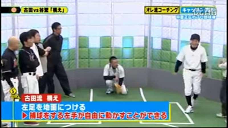古田の構えの段階で左足を地面につける理由