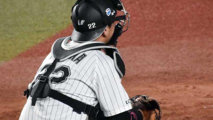 田村龍弘選手のキャッチングとフレーミング