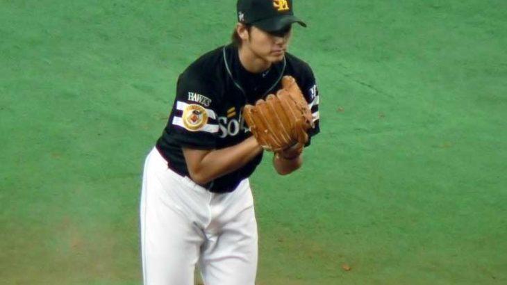 斉藤 和巳の現役時代のフォークの投げ方