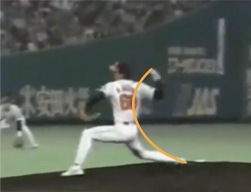 斉藤和巳のステップからの体の回転