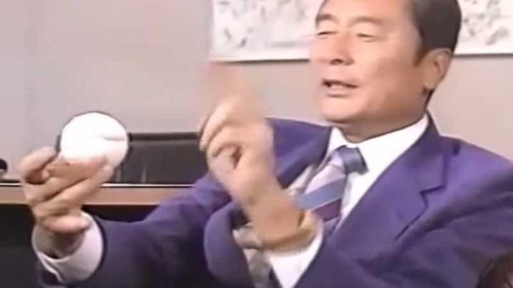 金田 正一の現役時代のカーブの投げ方