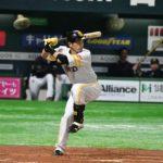 松田 宣浩選手のバッティングフォーム