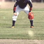 外野手の打球への備えと構え方の5つの基本