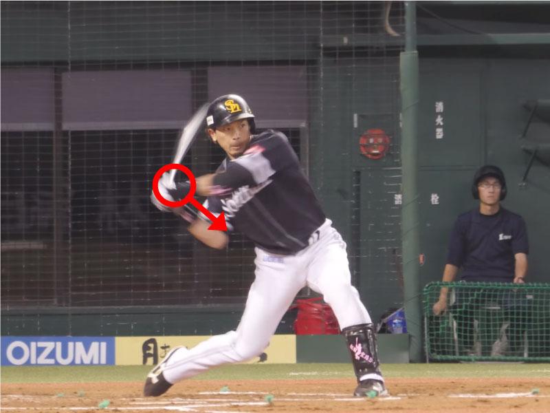 松田宣浩選手のインパクト