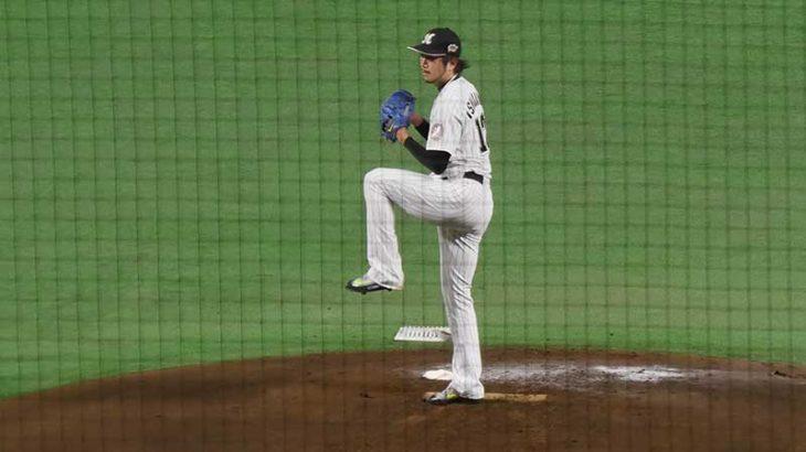 石川歩の投球フォーム