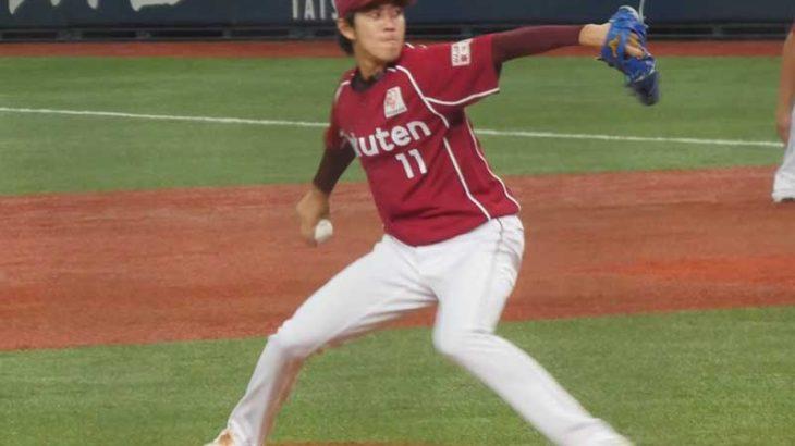 岸孝之選手のピッチングフォーム