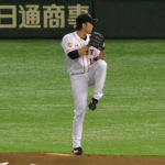 菅野智之選手のピッチングフォーム