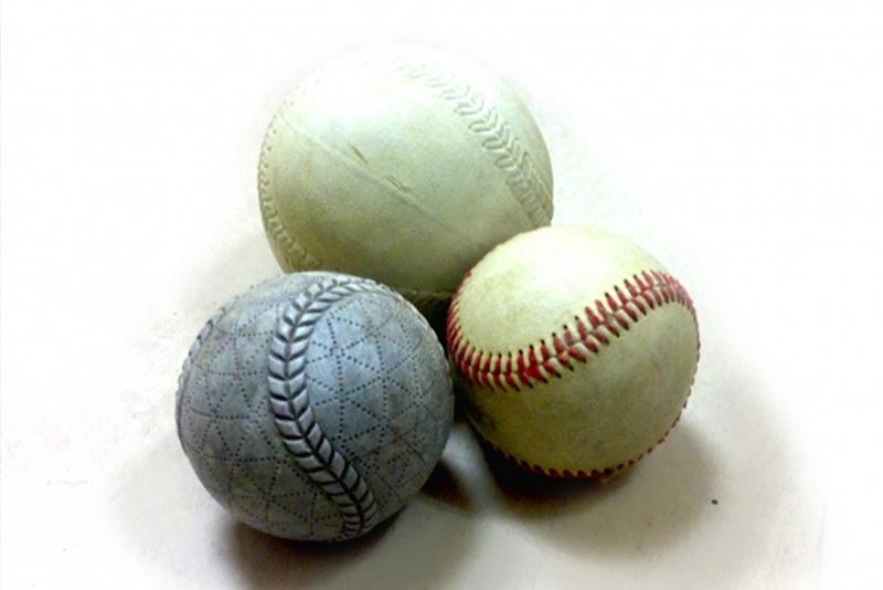 軟式球と硬式球