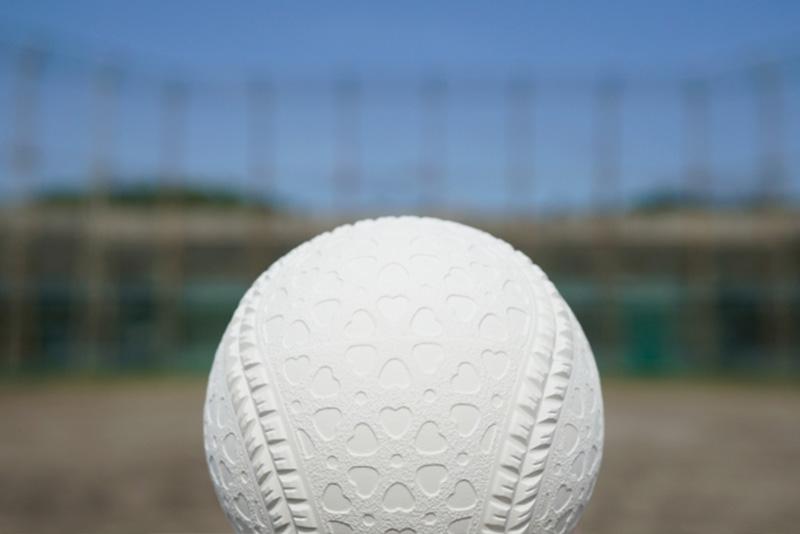 軟式野球のボール