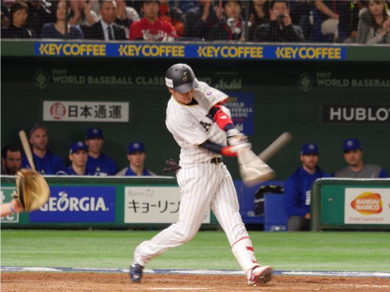 山田哲人選手のインパクト