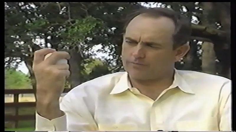 ノーラン・ライアンのカーブの握り方