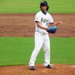 井川投手のフォーム
